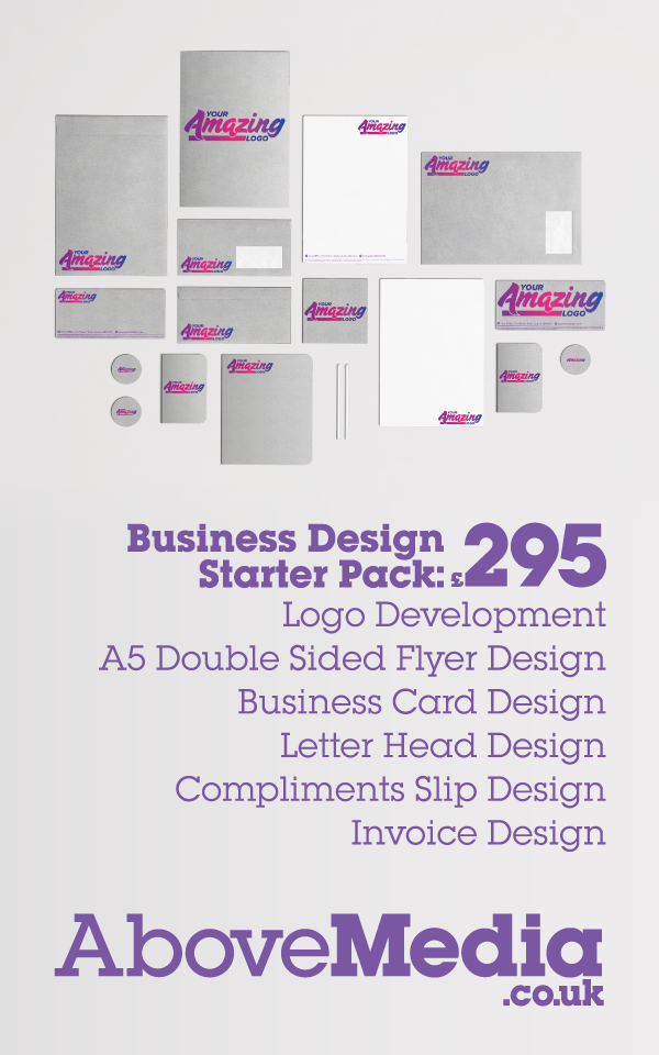 Above Media : Business Design Starter Pack