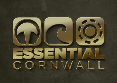 Essential Cornwall logo by AboveMedia