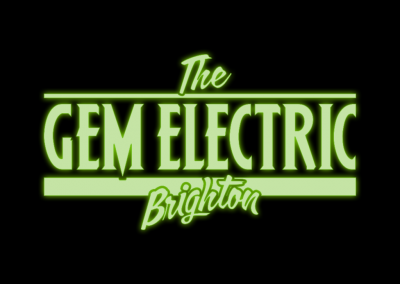 The Gem Electric Logo by AboveMedia
