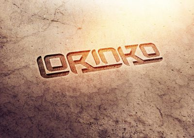Lorinko logo by AboveMedia