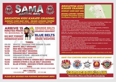 SMA Grading Flyer