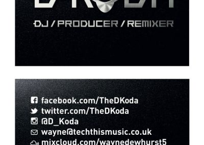 Dkoda Business Card