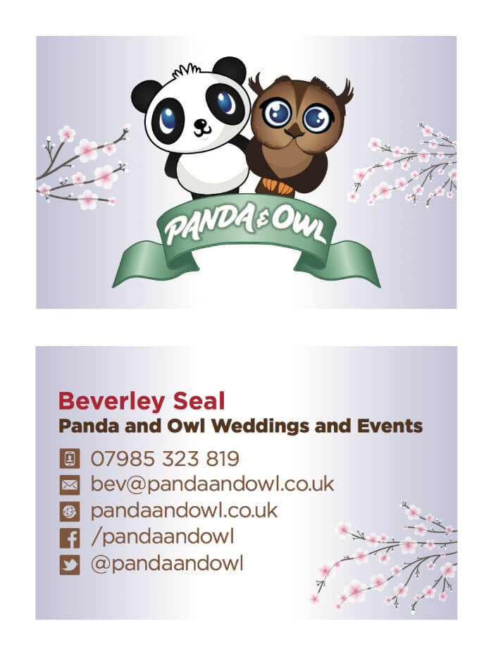 Panda Owl Business Card