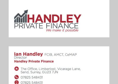 Handley Business Card