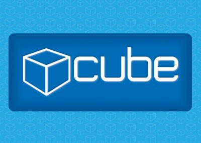 Cube Bar logo by AboveMedia